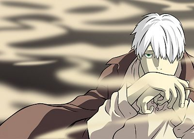 Mushishi, Ginko - random desktop wallpaper