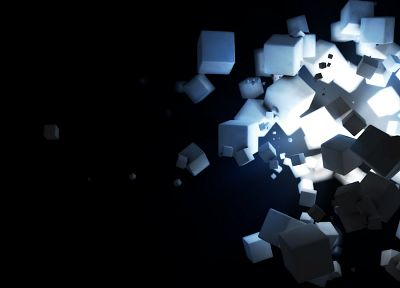 cubes - random desktop wallpaper