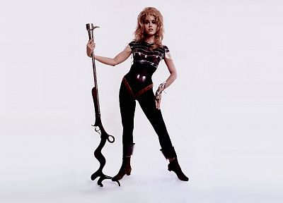 movies, Jane Fonda, Barbarella - random desktop wallpaper