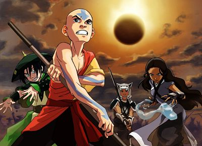 Avatar: The Last Airbender, Toph, Aang, Katara, Sokka - related desktop wallpaper