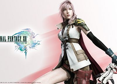 Final Fantasy, Final Fantasy XIII, Claire Farron - random desktop wallpaper