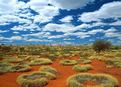 nature, sand, old, deserts, little, rings, Australia, sky - random desktop wallpaper