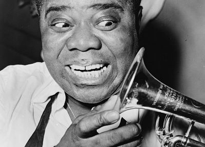 jazz, Louis Armstrong, musicians - random desktop wallpaper