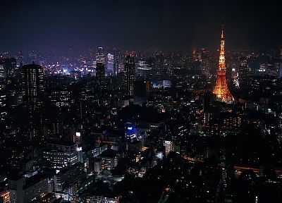 Tokyo, cityscapes, architecture, buildings - desktop wallpaper
