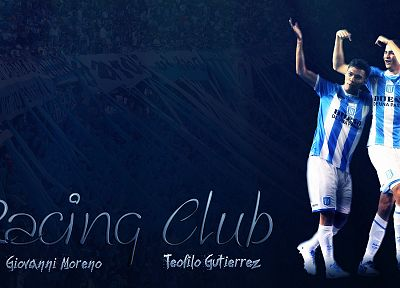 Giovanni Moreno, Racing Club, Academia, Teofilo Gutierrez, football - random desktop wallpaper