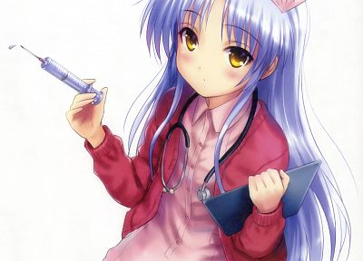 Angel Beats!, nurses, Tachibana Kanade, anime girls - desktop wallpaper