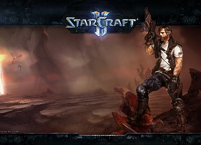 StarCraft II - random desktop wallpaper