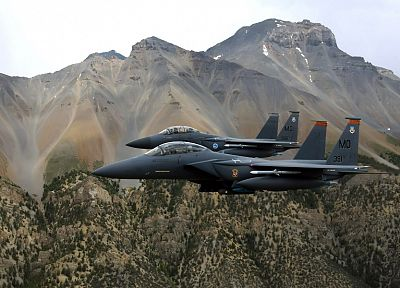 aircraft, war, airplanes, planes, F-15 Eagle - desktop wallpaper