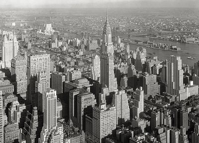 cityscapes, buildings, New York City, Chrysler Building - related desktop wallpaper