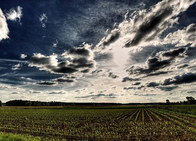 clouds, landscapes, HDR photography, skyscapes - desktop wallpaper