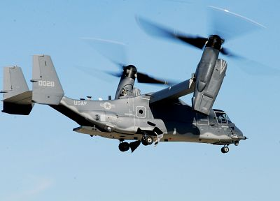 aircraft, military, V-22 Osprey - random desktop wallpaper