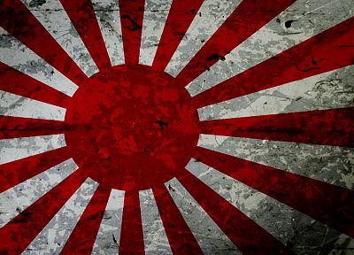 Japan, red, flags, like nazi flag - random desktop wallpaper