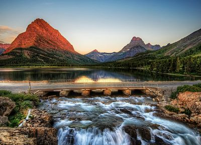 mountains, landscapes, nature, bridges, HDR photography - random desktop wallpaper