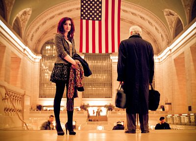 Susan Coffey, New York City, American Flag - random desktop wallpaper