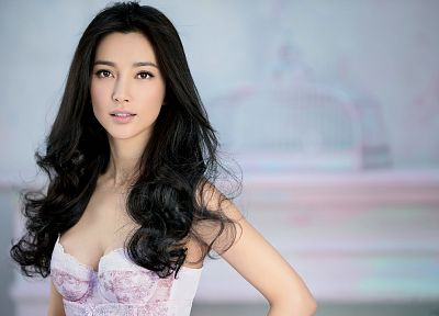 brunettes, women, models, Asians, Fan Bingbing, Fan Bing Bing, Fan Bing-Bing - related desktop wallpaper