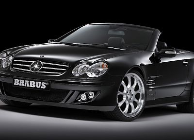 cars, Brabus, Mercedes-Benz - random desktop wallpaper