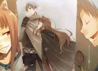 Spice and Wolf, animal ears, Craft Lawrence, Holo The Wise Wolf - desktop wallpaper