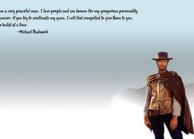 quotes, Clint Eastwood, western, western star - random desktop wallpaper