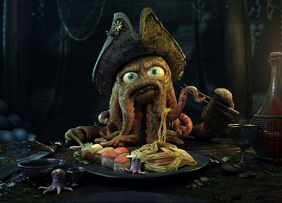 Pirates of the Caribbean, Davy Jones - random desktop wallpaper