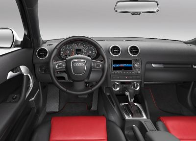 cars, Audi, car interiors - random desktop wallpaper