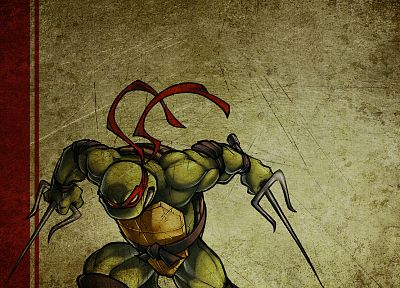 Teenage Mutant Ninja Turtles, raphael - random desktop wallpaper