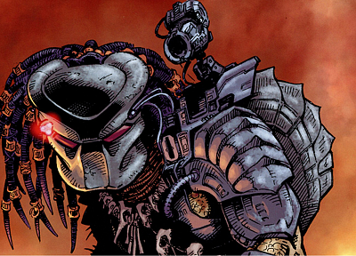 comics, predator - random desktop wallpaper