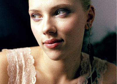Scarlett Johansson, actress, faces - random desktop wallpaper