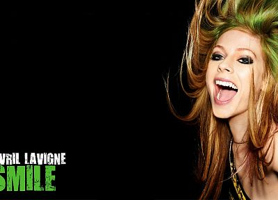 women, Avril Lavigne, smiling, singers - related desktop wallpaper