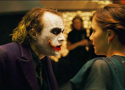 The Joker, Maggie Gyllenhaal, The Dark Knight, Rachel Dawes - random desktop wallpaper