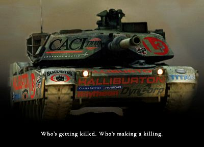 war, guns, military, tanks, Iraq, advertisement - related desktop wallpaper