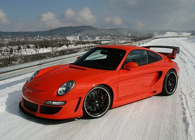 winter, Porsche, cars, vehicles - related desktop wallpaper