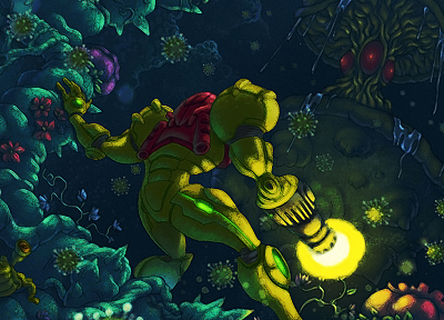 Metroid, video games - random desktop wallpaper