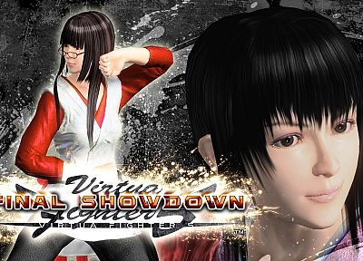 video games, Sega Entertainment, Virtua Fighter, Aoi Umenokoji - random desktop wallpaper