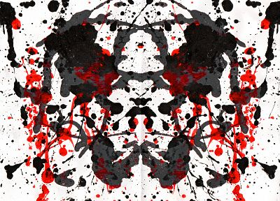 Rorschach test - random desktop wallpaper