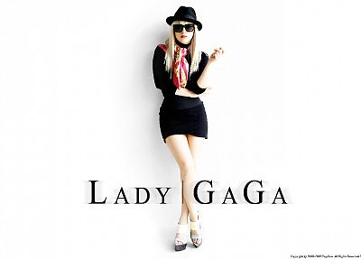 women, Lady Gaga, singers, scarfs - random desktop wallpaper