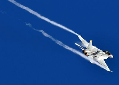 aircraft, FA-18 Hornet - desktop wallpaper