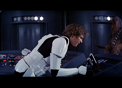 Star Wars, screenshots, Han Solo, Chewbacca, Harrison Ford - related desktop wallpaper