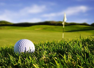sports, gold, golf, golf balls - random desktop wallpaper