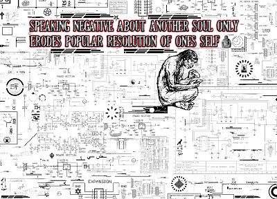 typography, caveman, diagram - random desktop wallpaper