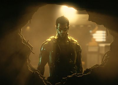 video games, Deus Ex: Human Revolution, Adam Jensen - desktop wallpaper