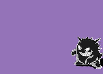 Pokemon, Gengar - random desktop wallpaper