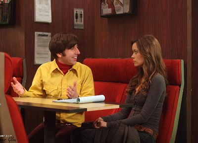 Summer Glau, The Big Bang Theory (TV), Howard Wolowitz, Simon Helberg - random desktop wallpaper
