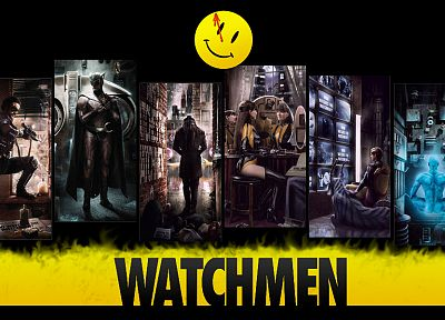 Watchmen, Rorschach, Silk Spectre, The Comedian, Nite Owl, Ozymandias, Dr. Manhattan, Adrian Veidt - related desktop wallpaper