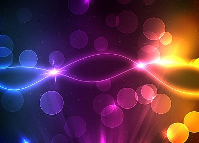 abstract, multicolor, shapes, digital art, lines - related desktop wallpaper