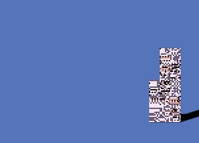 Pokemon, MissingNo. - random desktop wallpaper