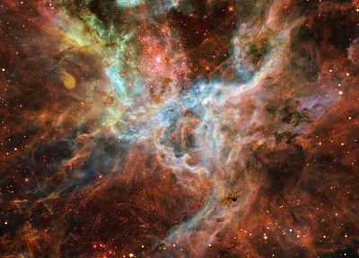 outer space, stars, nebulae - random desktop wallpaper