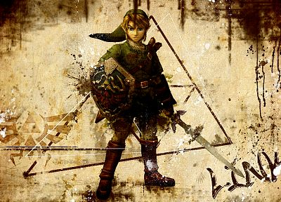 Link, The Legend of Zelda - random desktop wallpaper