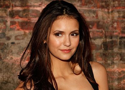 brunettes, women, actress, celebrity, Nina Dobrev - related desktop wallpaper