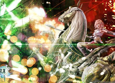 video games, Final Fantasy XIII - related desktop wallpaper
