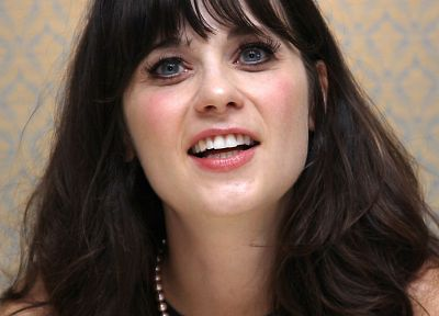 women, actress, Zooey Deschanel - related desktop wallpaper